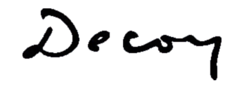 Decoy cafe logo